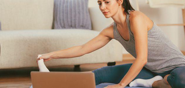 online: Hatha Yoga am Mittwoch